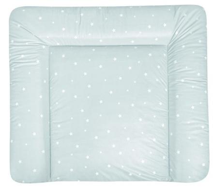 Zöllner Changing mat Softy Foil stars mint 75x85