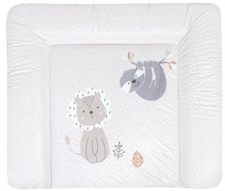 Zöllner Changing mat Softy Foil lion and sloth 75x85