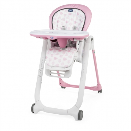 Chicco highchair Polly Progres5 pink