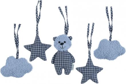 Sterntaler Toy pendant set Baylee blue