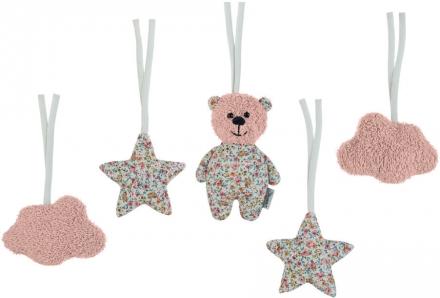Sterntaler Toy pendant set Baylee rose
