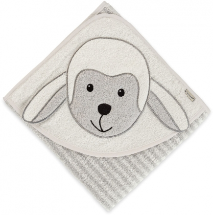 Sterntaler Hooded bath towel with all-over motif Stanley 80x80