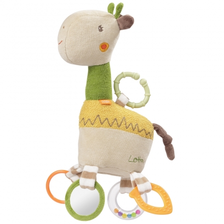 Fehn 059069 Activity giraffe with ring