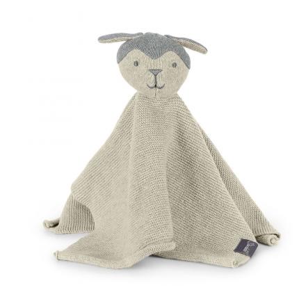 Sterntaler knitwear cuddle cloth small sheep silver melange