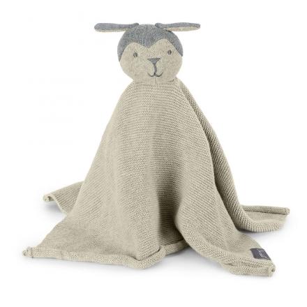 Sterntaler knitwear cuddle cloth medium sheep silver melange