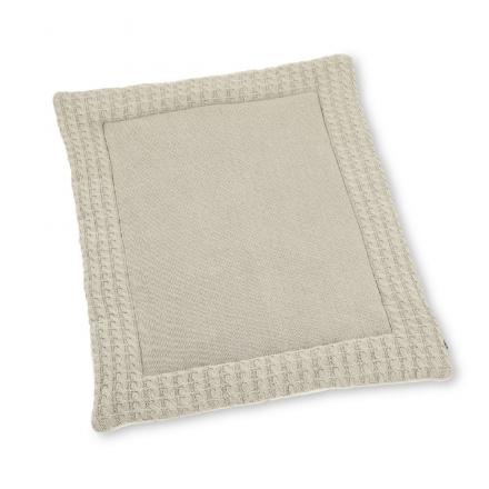 Sterntaler Knitted crawling blanket ecru melange