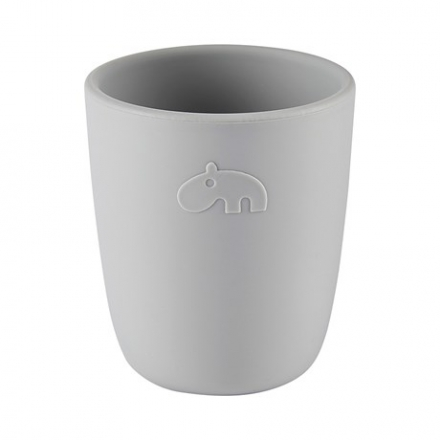 Done by Deer Silicone mini mug grey