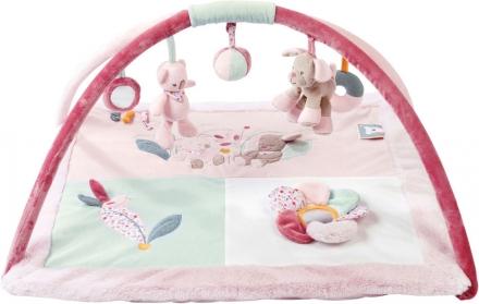 Nattou Iris&Lali Crawling blanket with play bow