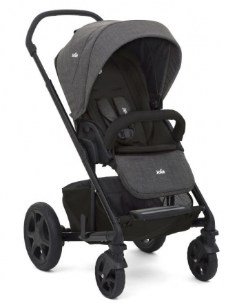 Joie Chrome DLX Combi-stroller Set Pavement
