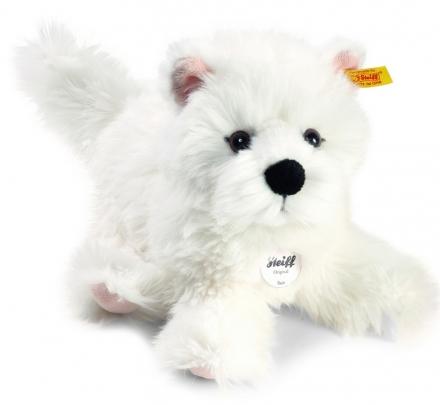 Steiff 076992 Sam West Highland Terrier 30 white