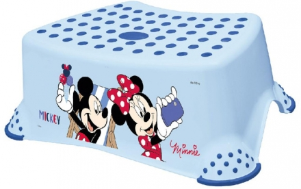 Keeeper Step stool Tomek Mickey Mouse light blue