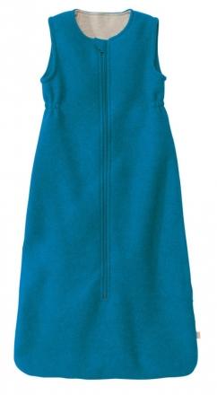 Disana Boiled wool sleeping bag 60cm blue