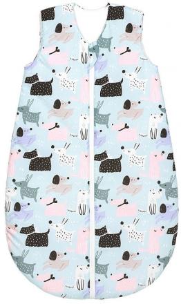 Odenwälder Sleeping bag 110 cm dogs cold mint