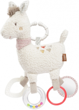 Fehn 58055 activity playtoy lama with ring