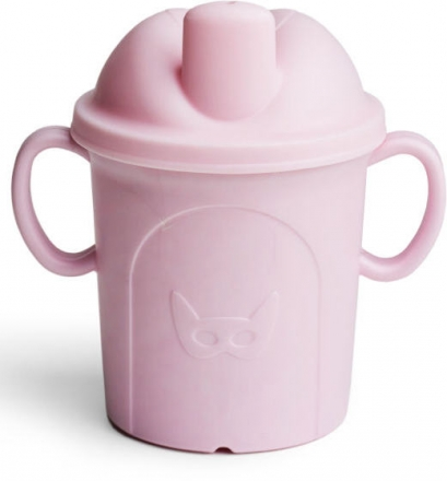 Herobility Eco Sippy Cup 210ml pink
