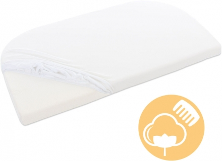 Tobi babybay Mattress cover deluxe with membrane white