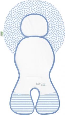 Odenwälder Babycool-child seat group 0 inlay Coolmax stripes blue