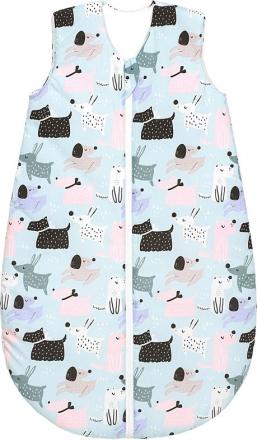 Odenwälder Summer sleeping bag 110 cm dogs cold mint
