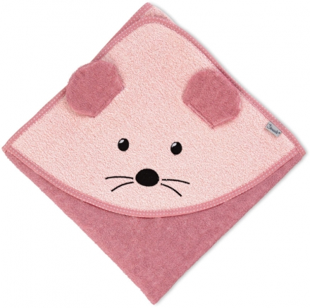 Sterntaler Hooded bath towel Mabel 100x100