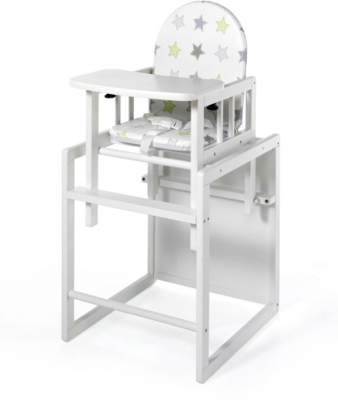 Geuther High chair Nico stars white