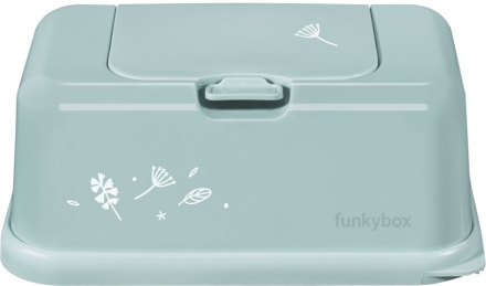 Funkybox for wet wipes mint leaves