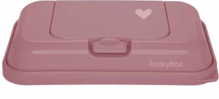 Funkybox To Go for wet wipes punch pink hearts