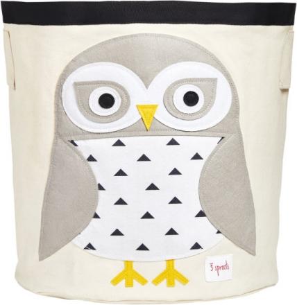 3sprouts Storage basket snow owl