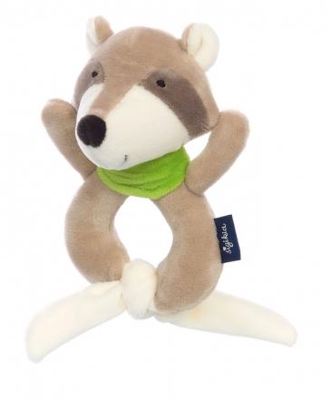 Sigikid 42331 Graspy Toy Raccoon Blue Collection
