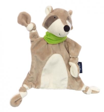 Sigikid 42333 Comforter Raccoon blue collection