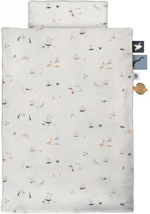 Sebra Jersey bed linen - junior Germany - 100x135cm seven seas