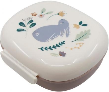 Sebra Lunch box with divider Daydream