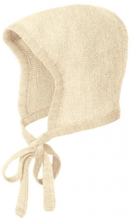 Disana knitted hood size 0 creme