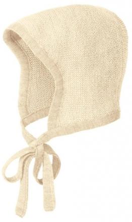 Disana knitted hood size 1 creme