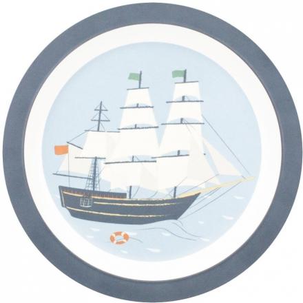 Sebra Melamine plate Seven Seas
