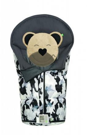 Odenwälder Sleeping bag Mucki L Fashion camouflage coll. 20/21 stone