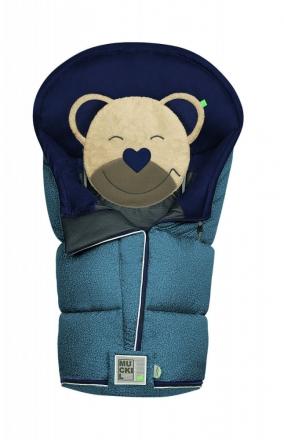 Odenwälder Sleeping bag Mucki L Fashion pebbles coll. 20/21 denim