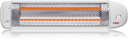 REER Radiant heater for changing table with automatic turning off