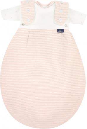 Alvi Sleeping bag for premature babies ® 2 pcs. Super-Soft 44-56 Stripes rose