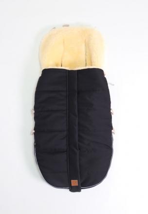Kaiser Lambskin footmuff Allex black