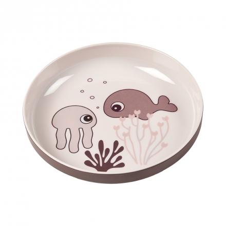 Done by Deer Yummy mini plate Sea Friends powder