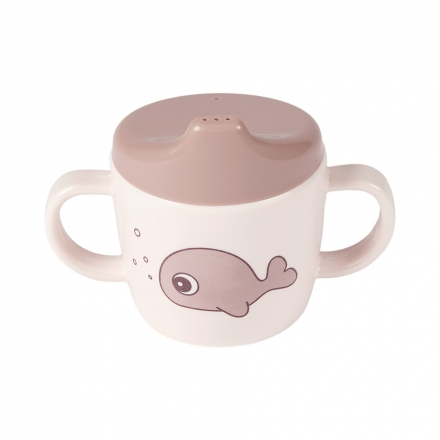 Done by Deer Spout Cup Sea Friends powder pink