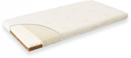Träumeland Baby mattress Natural happiness 70 x 140 cm