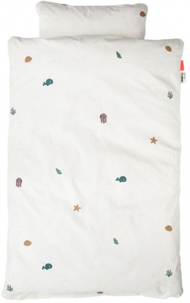 Done by Deer Bedlinen Junior INT Sea Friends beige