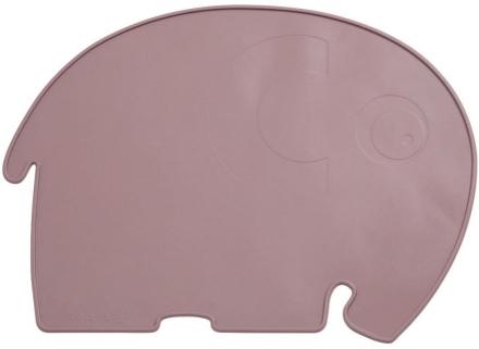 Sebra Silicone placemat Fanto the elephant rustic plum