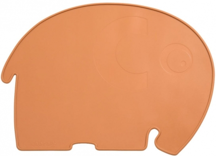 Sebra Silicone placemat Fanto the elephant toasted orange