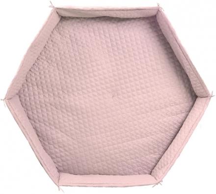 roba Play pen cushion hexagon roba Style light pink