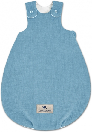 Zöllner Jersey Sleeping Bag Koon Terra blue 62/68