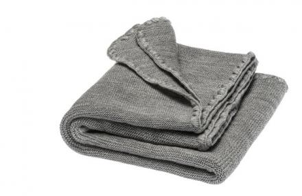Disana Summer blanket pebble grey 100x80cm