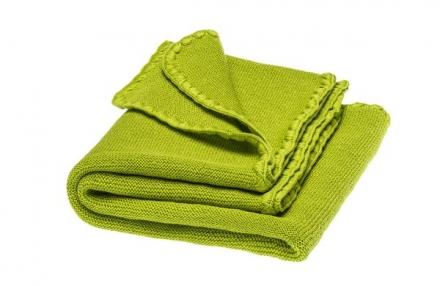 Disana Summer blanket apple green 100x80cm
