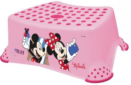 Keeeper Step stool Tomek Minnie Mouse pink